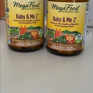 Baby & Me 2 Prenatal Vitamins